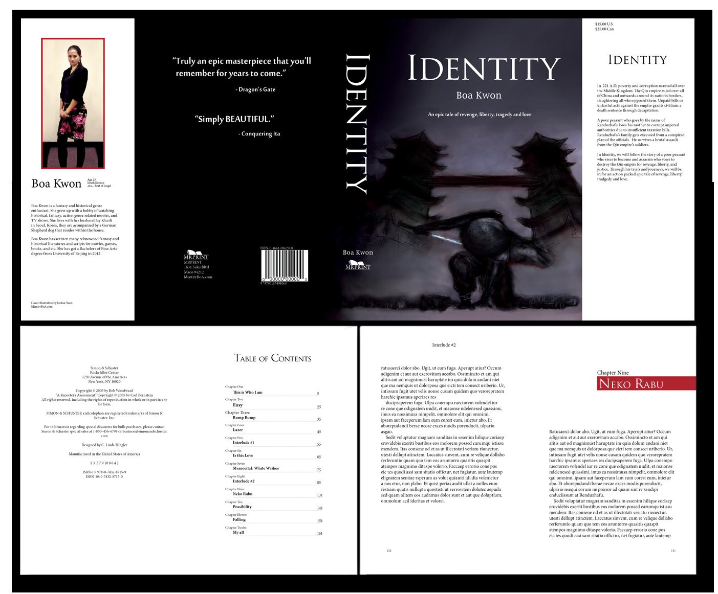 Identity Dust Jacket Cover