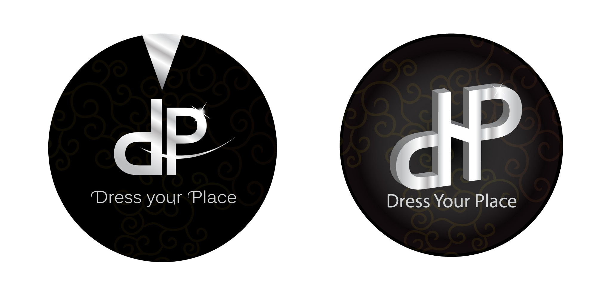 Dress your Place Logo Designs