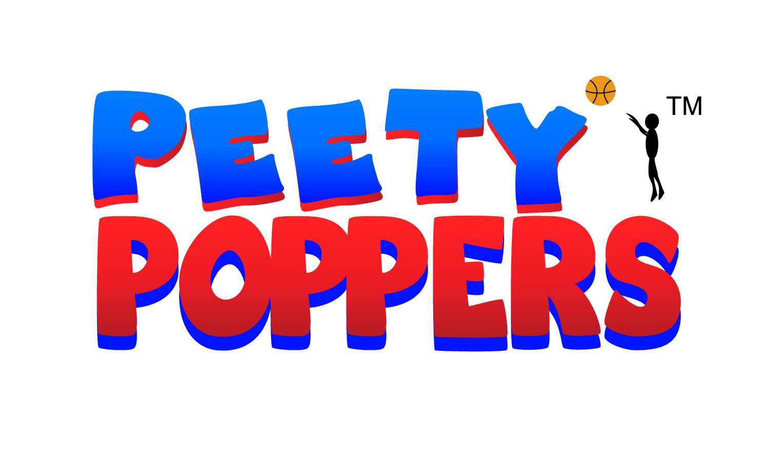Peety POPPERS Logo Design