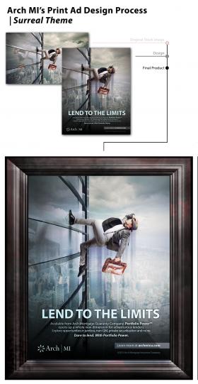 Marketing Campaign Print Ad Design