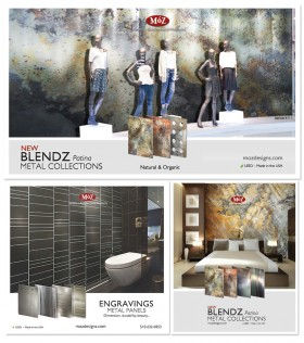 Moz Designs print ads for various architectural magazines