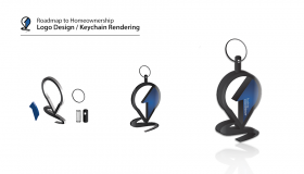 Logo Design and 3D Modeling of RtHO Keychain