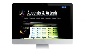Accents and Artech's Website Dev