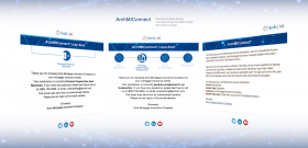 ArchMIConnnect Info Graphics and HTML Email Template Design